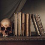 Teschio e Libri